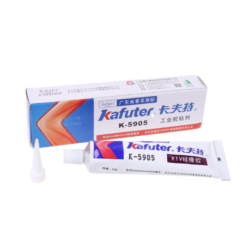 2018 New High Quality Kafuter K-5905 Industrial Adhesive Transparent Sealant Paste A813