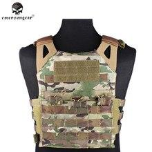 Emerson 1000D Tático Molle JPC Vest Simplificado Versão Militar Paintball Caça Colete de Proteção No Peito Colete Transportadora Placa