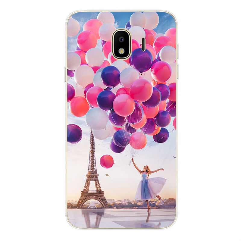 For Samsung Galaxy J6 J4 J8 2018 Case Soft Silicone Phone Cover Cases for Samsung J 4 6 Plus 8 2018 j 400 600 415 610 810 F in Fitted Cases from Cellphones Telecommunications