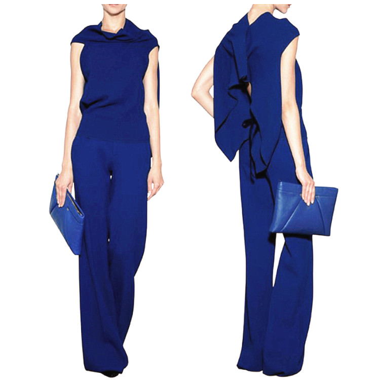Longer Size Can fit 160cm -200cm height flare pants 2018 new Fashion brand England style Elastic was thin flare trousers WQ09