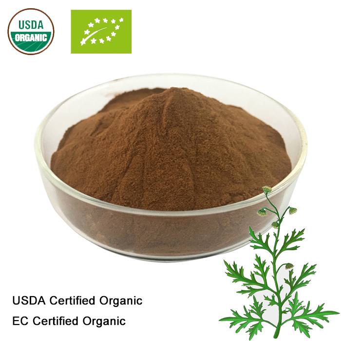 USDA And EC Certified  Organic Artemisia Annua Extract  10:1   Sweet Wormwood Extract