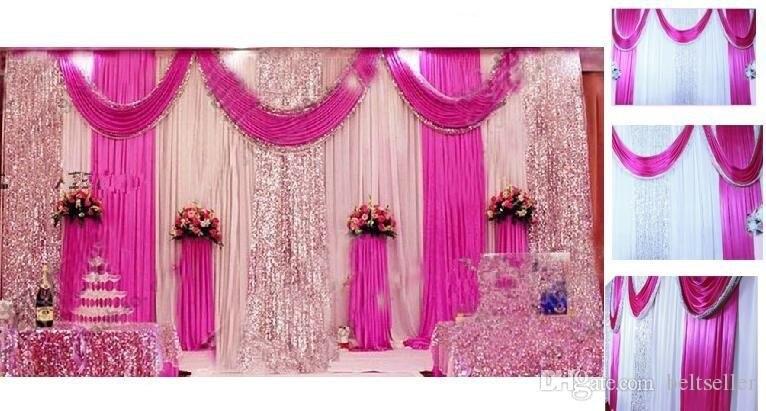 Online Get Cheap Pink Satin Curtains -Aliexpress.com   Alibaba Group