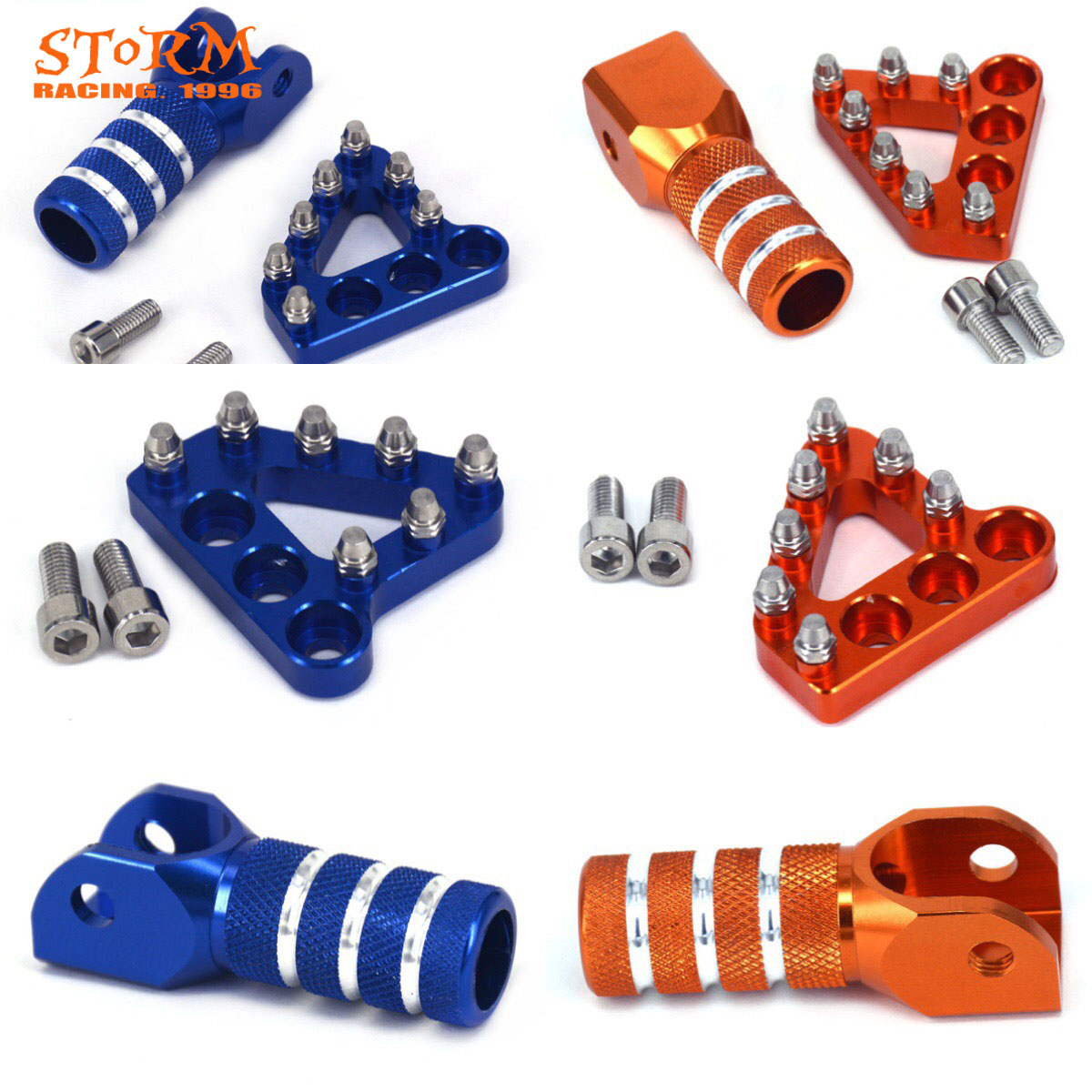 Rear Brake Pedal Step Plate Gear Shifter Lever Tip For KTM duke125 200 390 990 950 ADVENTURE 690 DUKE SMC 690 ENDURO EXC mtkracing cnc aluminum brake clutch levers set short adjustable lever for ktm adventure 1050 690 duke smc smcr 690 enduro r