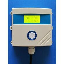 גבוהה דיוק אלקטרוכימי פחמן חד חמצני חיישן משדר משדר אזעקת גז CO 0 ~ 5 V 4 ~ 20mA RS485 MODBUS RTU
