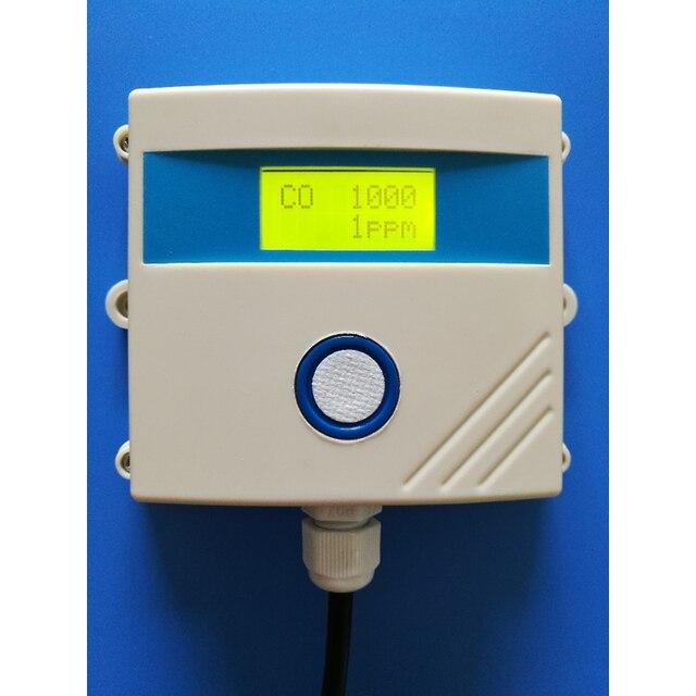 Передатчик системы сигнализации, высокоточный электрохимический датчик угарного газа CO 0 ~ 5 в 4 ~ 20 мА RS485 MODBUS RTU