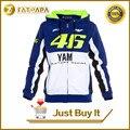 Frete grátis 2016 M1 Factory Racing gp Valentino Rossi VR46 equipe moto gp apto para yamaha adulto camisola do hoodie esportes jaquetas