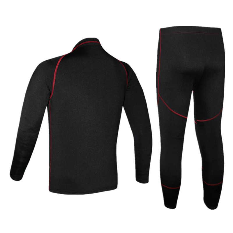 เสื้อขี่จักรยาน Jersey ชุดชุดชั้นใน Skinsuit ผู้ชายผู้หญิง MTB Road Bike สวมใส่ฤดูใบไม้ร่วงฤดูหนาวขนแกะร้อนขี่จักรยานเสื้อผ้า