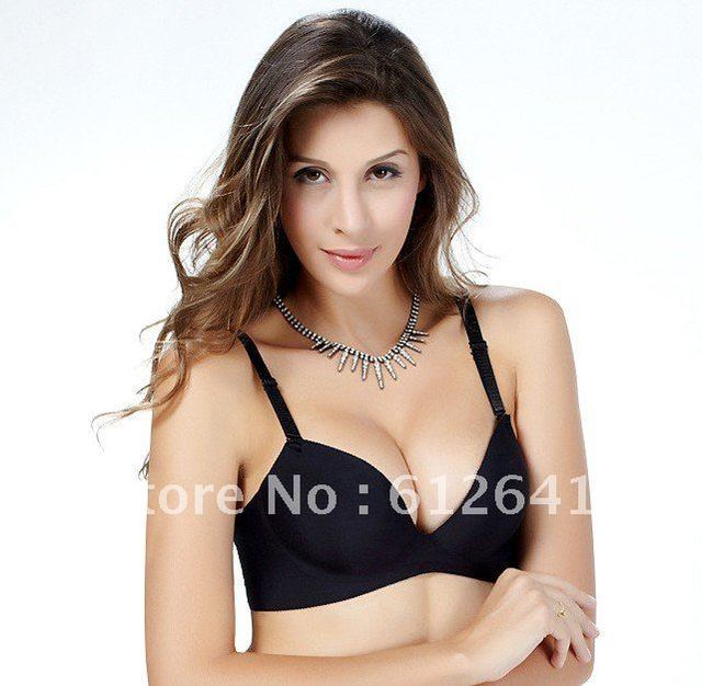 833cc6d45f Magic A B Cup One Piece Seamless Enhancer Push Up T shirt Bra Side Support  Plunge Underwear