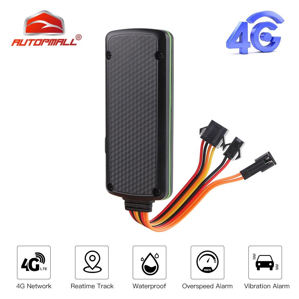 4G GPS Tracker Car TK319-L LTE 9-72V Waterproof Collision Alarm GPS Car Tracker Cut Engine Built-in Battery ACC Geo-fence Alert