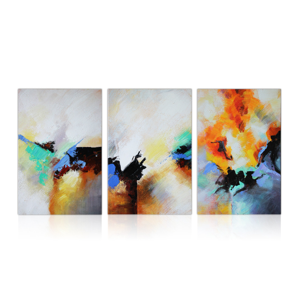 iarts modern art abstract framed oil paintings handpainted picture canvas original artwork for living room decoration