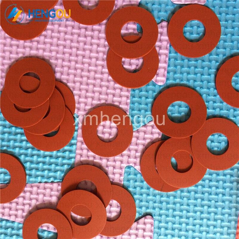 500 pieces Hengoucn red rubber sucker size 32x13x1 mm Hengoucn parts