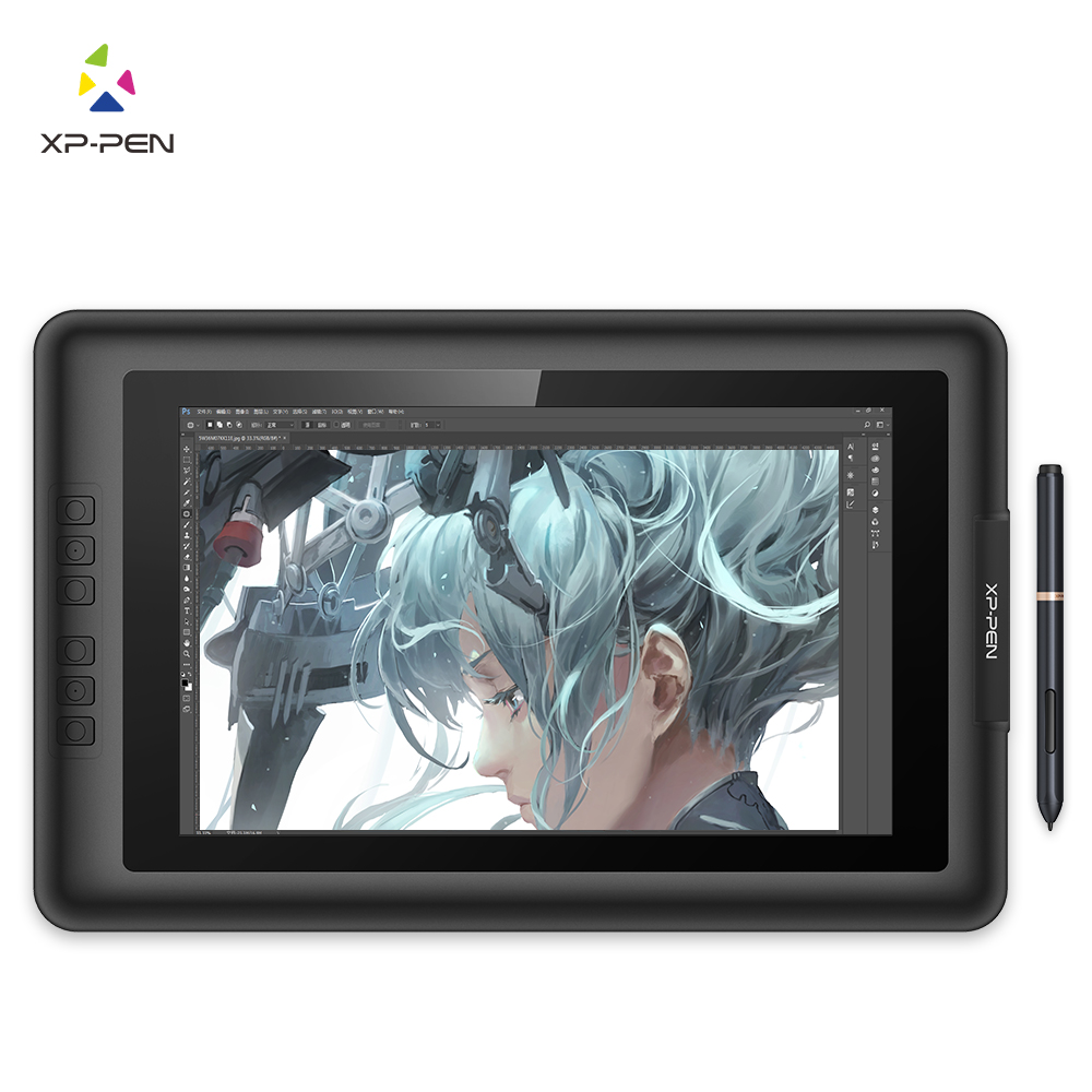XP-Pen Artist13.3  13.3  IPS Graphics Drawing Monitor Pen Tablet Pen Display with Clean Kit and Drawing Glove xp pen artist22e fhd ips pen display monitor graphics drawing tablet with 16 express keys