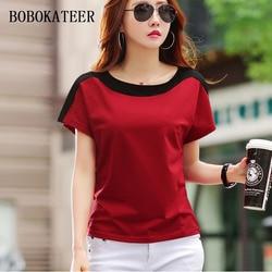 BOBOKATEER tee shirt femme tshirt women t shirt summer tops for women 2019 funny t shirts cotton sexy t-shirt camisetas mujer 3