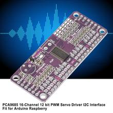 PCA9685 PWM Controller Servo Driver 16-Channel 12 bit I2C Interface Fit for Arduino Raspberry