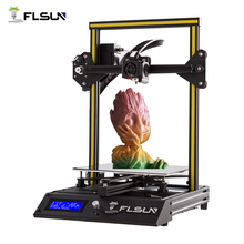 New User 3D Printer Flsun-F4 Large Printing Area 240*240*260mm Fast Assembly Metal Frame Heat Bed One Roll Filament Open Source