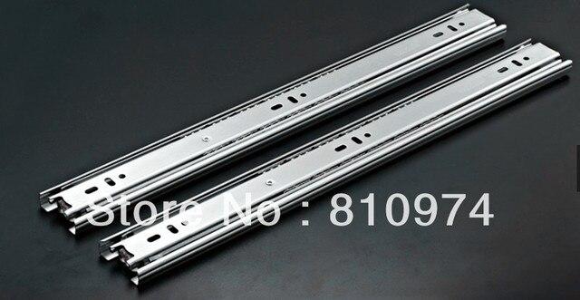 "20"" Hydraulic Soft Close Ball Bearing Drawer Slides 2 Pcs Free shipping"