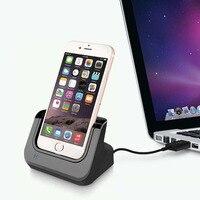 Desktop Ladegerät Dock Station USB Sync Adapter Mobilen Smartphone Lade Gerät Für Apple iPhone 5 6 6S 7 plus