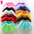2016year old Baby Girl  Net Veil Skirt Kids Cute Princess Clothes Birthday Gift Toddler Ball Gown Party Kawaii TUTU Skirts 2-7ye