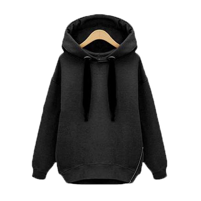Oversized Plus Size Sweatshirts Women Baggy Hoodies Long Sleeve Hooded  Loose Casual Warm Sweatshirt 2018 Autumn Winter-in Hoodies   Sweatshirts  from Women s ... 8f0d25bce