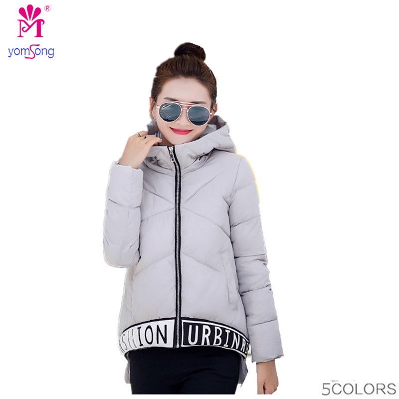 2016 New Winter Short Cotton Padded Coat Thick Padded Down Large Size Women   2022