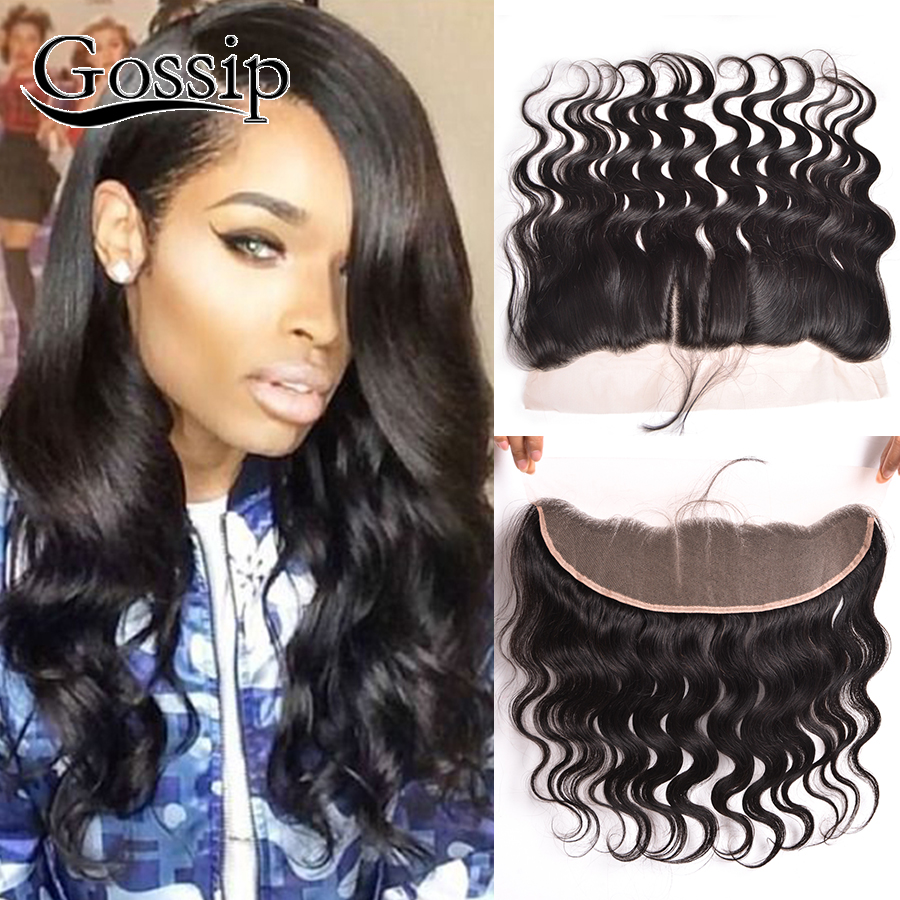 ФОТО Ear To Ear Lace Frontal Closure Indian Body Wave Lace Frontal Closure 7A Human Hair With Closure Lace Frontals With Baby Hair