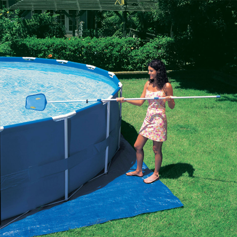 INTEX 366*76 cm Piscina Runde Rahmen Pool Set Rohr Rack Teich Große ...