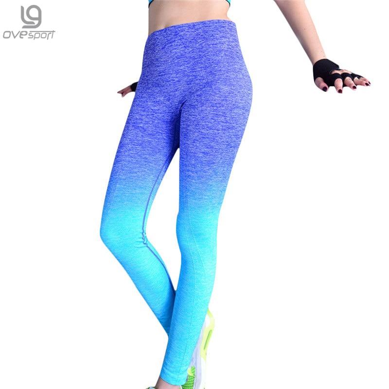 Naiste Fitness Leggings kõrge elastne mugav pikad püksid treening Naised Slim Püksid Hingav Legging Kulturismi Riided