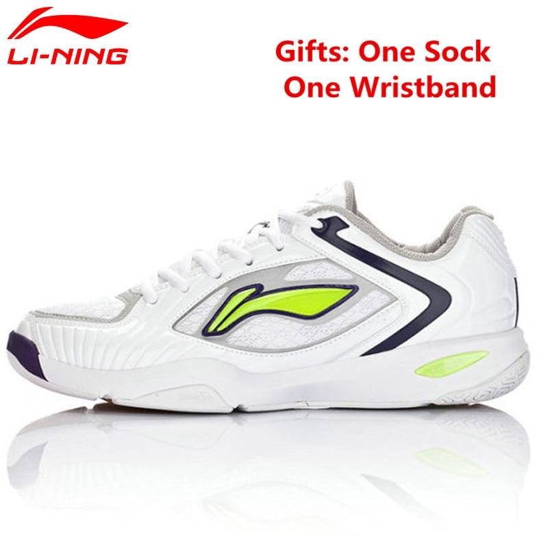 Ли-ning бадминтон обувь дышащая Демпфирование AYAH007 профессионального спорта спортивной обуви для мужчин ли Нинг Жесткий-носить легкие кеды
