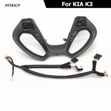 Para KIA Cerato K3 2016 2017 áudio volante Botão Interruptor de controle de  cruzeiro para telefone bluetooth a37d72fd9af71