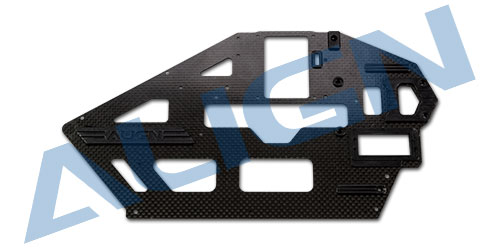 Align T-REX H50B002XXW  500L Carbon Fiber Main Frame(L)/1.6mm Align trex 500 Spare parts Free Shipping with Tracking tarot 500 spare parts tl50200 02 main frame set tarot 500 parts free shipping with tracking