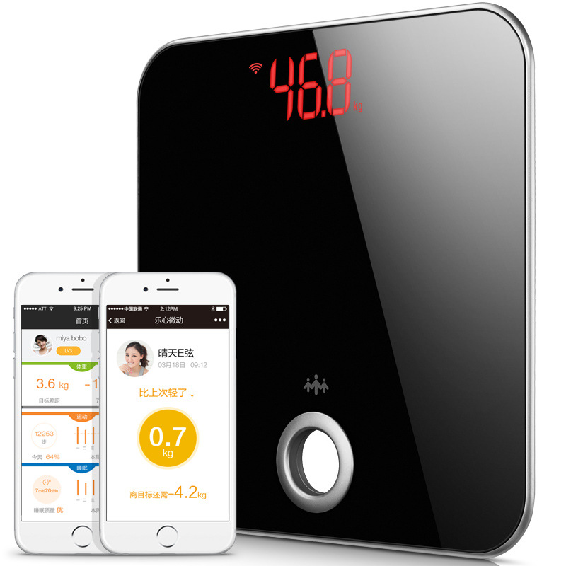 Original  Mini Smart Weight Scale Digital Scale Body Fat Scale Health Scale Support Android4.3/ IOS Bluetooth 4.0