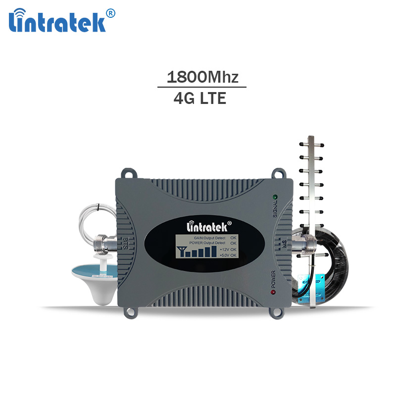 Lintratek 4g lte font b signal b font booster dcs 1800 mhz repeater gsm 4g mobile