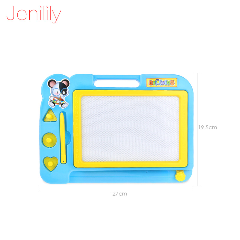 Jenilily Red Blue Pink Magnetic Drawing Board Sketch Pad Doodle Writing Art Child Childrens magnetic Drawing Board JN929