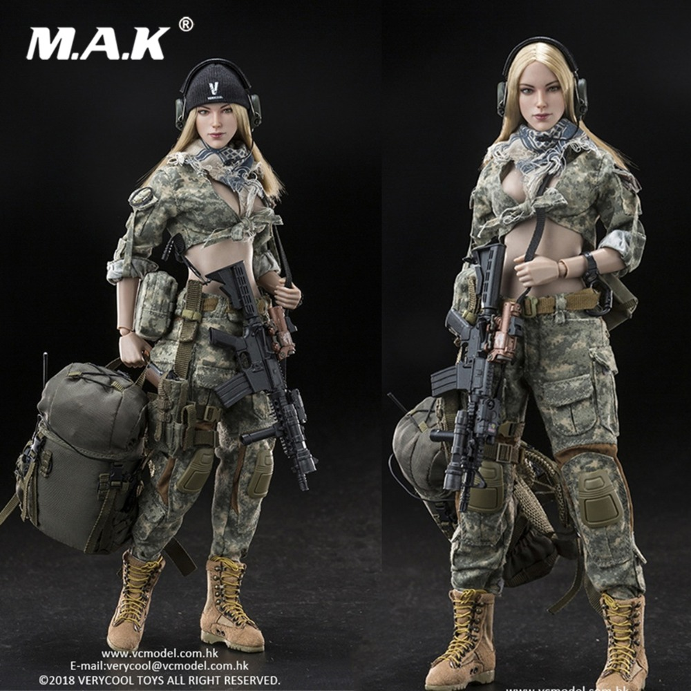 Feet w// Ball Joints 1//6 Scale Very Cool Action Figures Villa Female Soldier