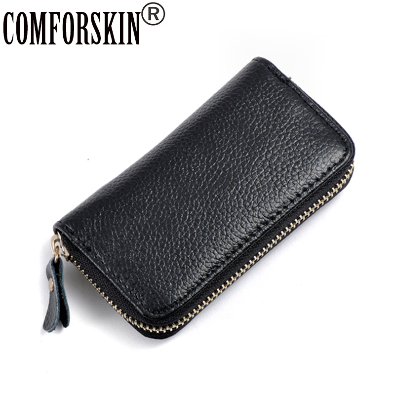COMFORSKIN Brand Key Case Car Covers New Arrival Mens Split Leather Purse Wallets Housekeeper Holders 10 Colors Direct Selling