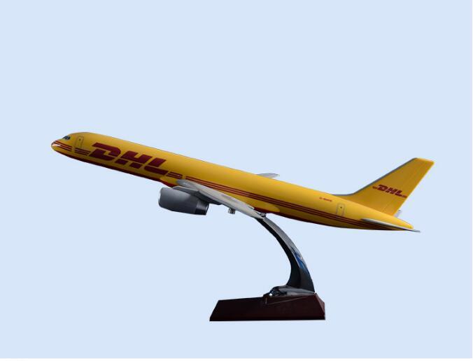 47 см Смола B757 DHL модель самолета Boeing 757 Shunfeng Express Cargo SF Aircraft Коллекция игрушек на подарок