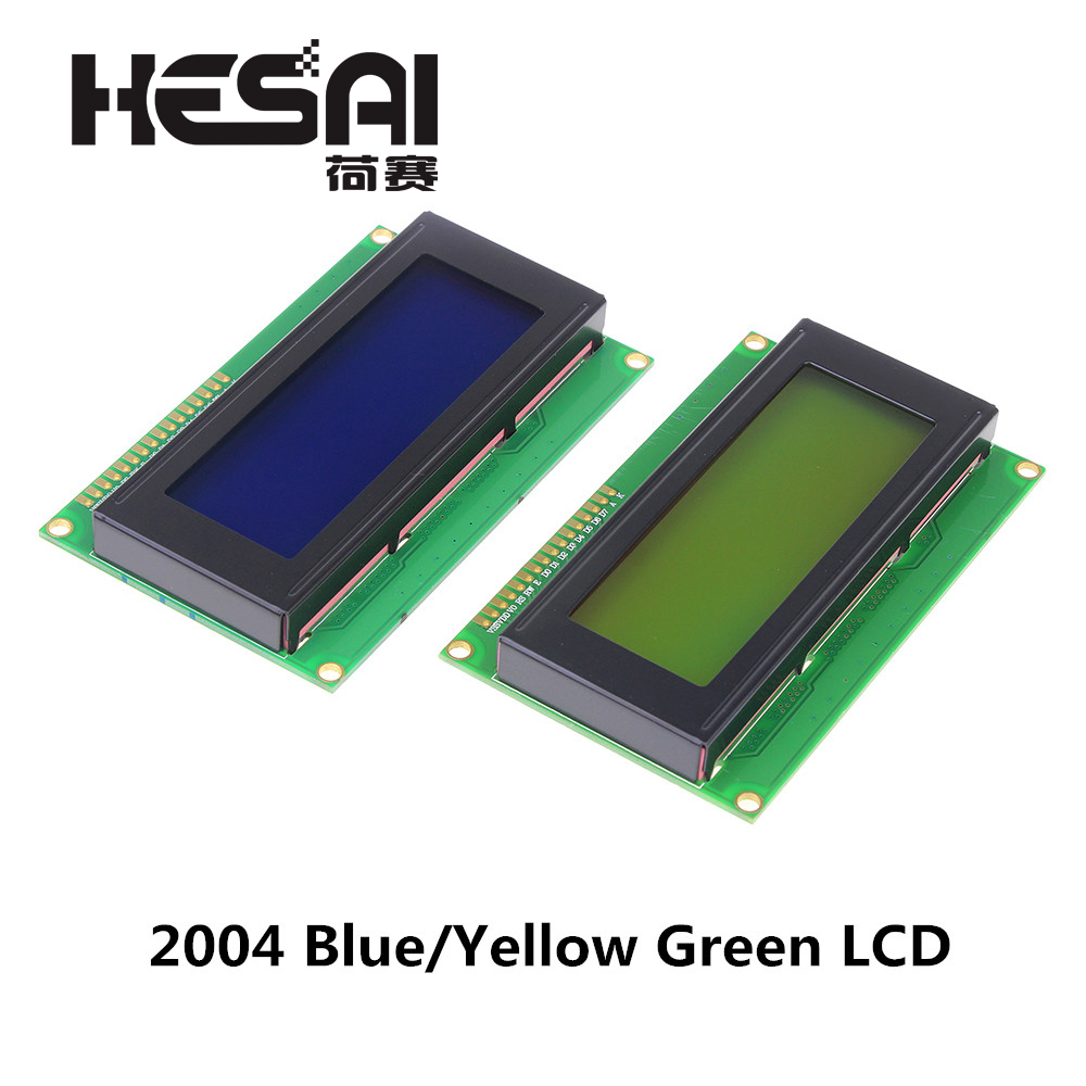 LCD Board 2004 20*4 LCD 20X4 5V Blue/Yellow Green Screen LCD2004 Display LCD Module For Arduino Diy Kit