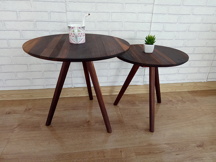 cafe tables cafe furniture solid wood round cafe tables japanese style assembly minimalist modern whole sale