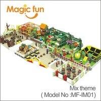 Волшебный весело новые дети Крытый Тематический Игровой парк для продажи детская площадка оборудование 3D дизайн только