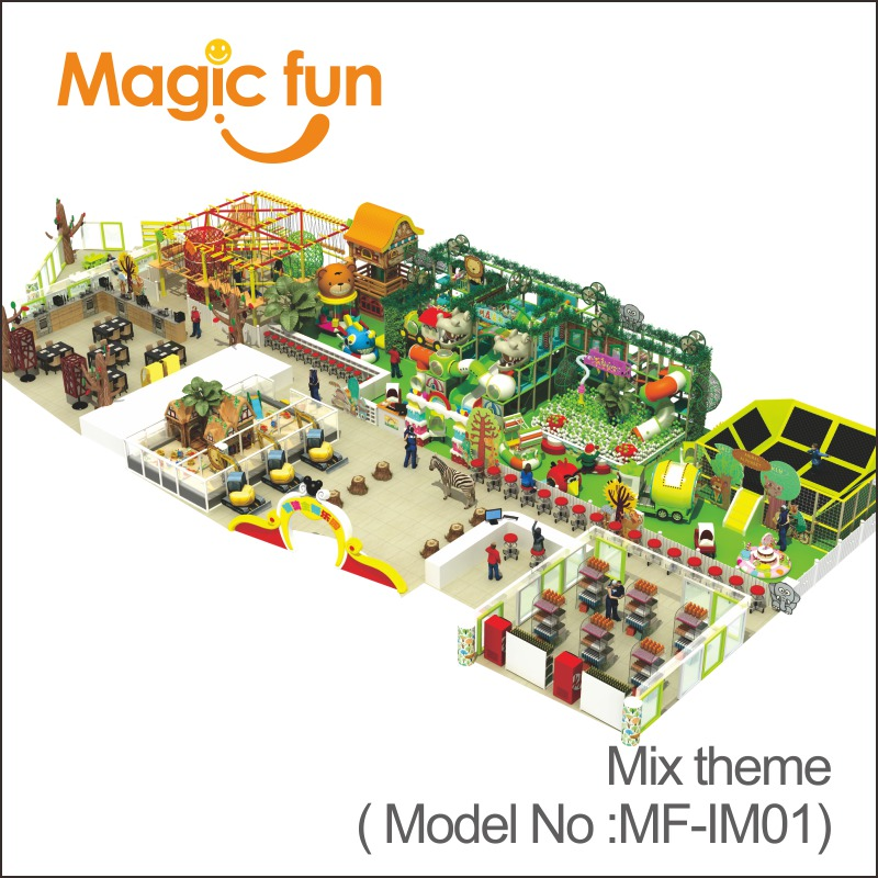 Magic Fun Newest Kids Indoor Theme Play Park For Sale