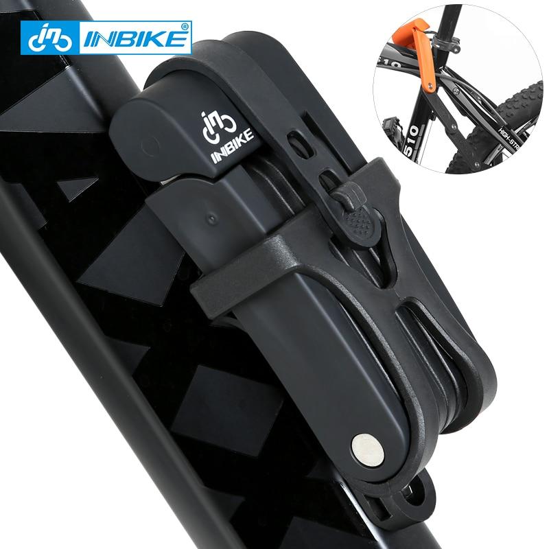 INBIKE Anti-scher von 12 tonnen Hydraulische Cutter Radfahren MTB Bike Lock Anti diebstahl Motorrad Lock Elektrische Fahrrad Teil kette Lock