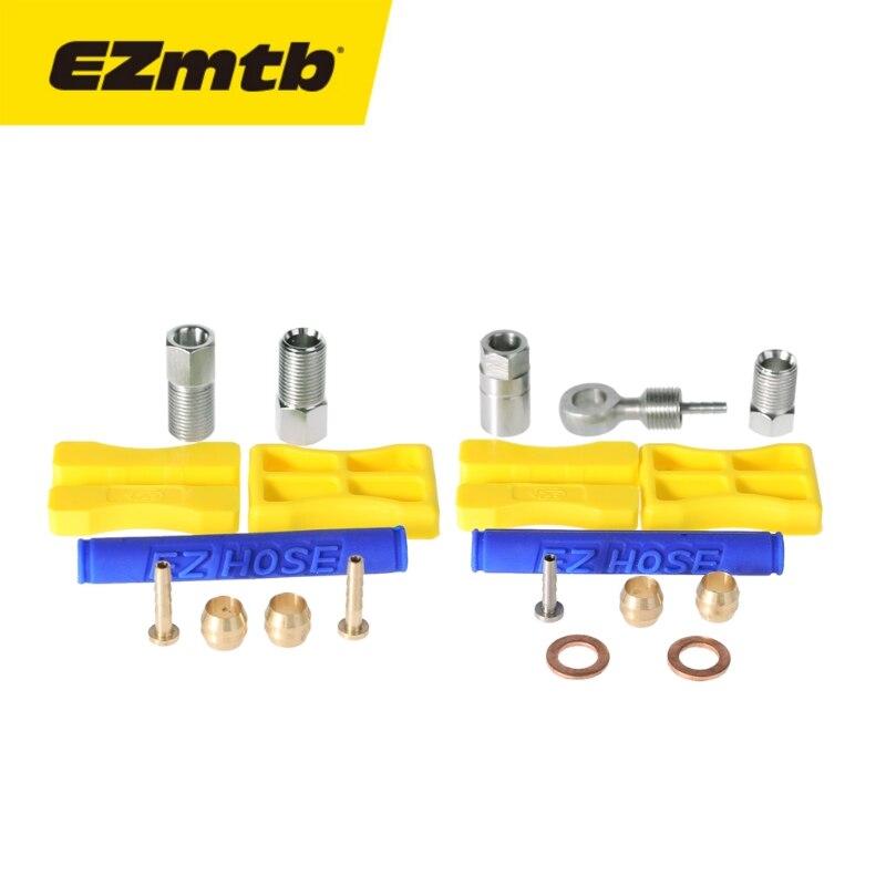 1 компл. EZmtb оливковое шланг адаптер велосипед тормоза вставить масла подключить для Shimano BH90 BH59