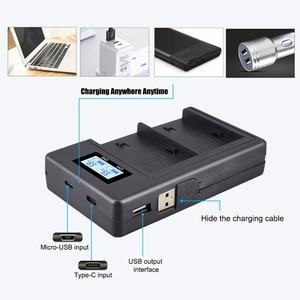 Image 3 - NP F960 970 NP F970 NPF970 LCD digital battery charger for SONY F930 F950 F770 F570 CCD RV100 NP F550 NP F770 NP F750 F960 F970