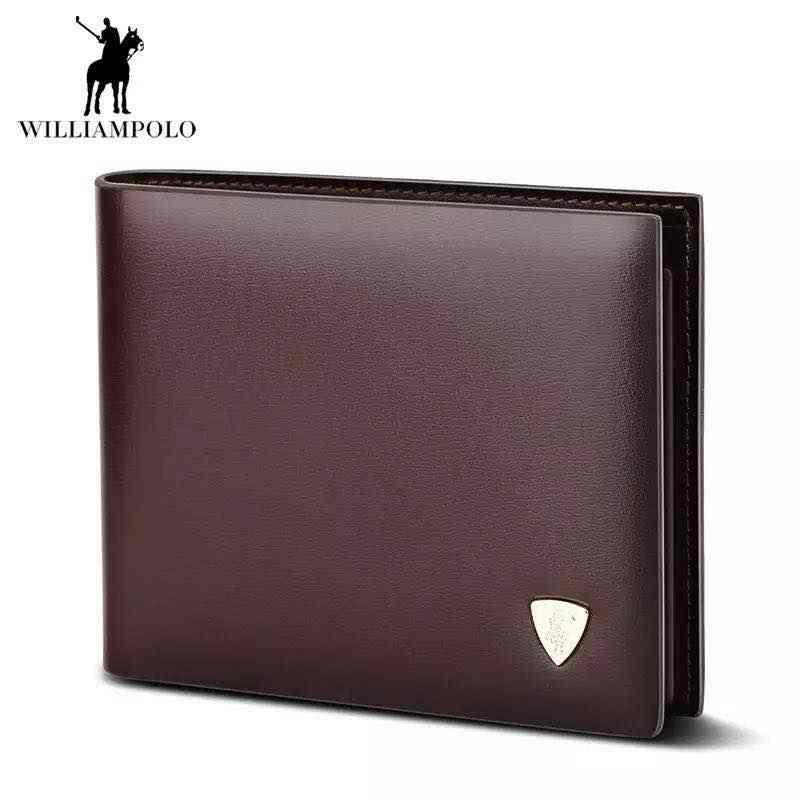 Мода 2018 г. Корова кожа тонкий маленький кошелек дизайнер деньги кошелек высокое качество коричневый pl147