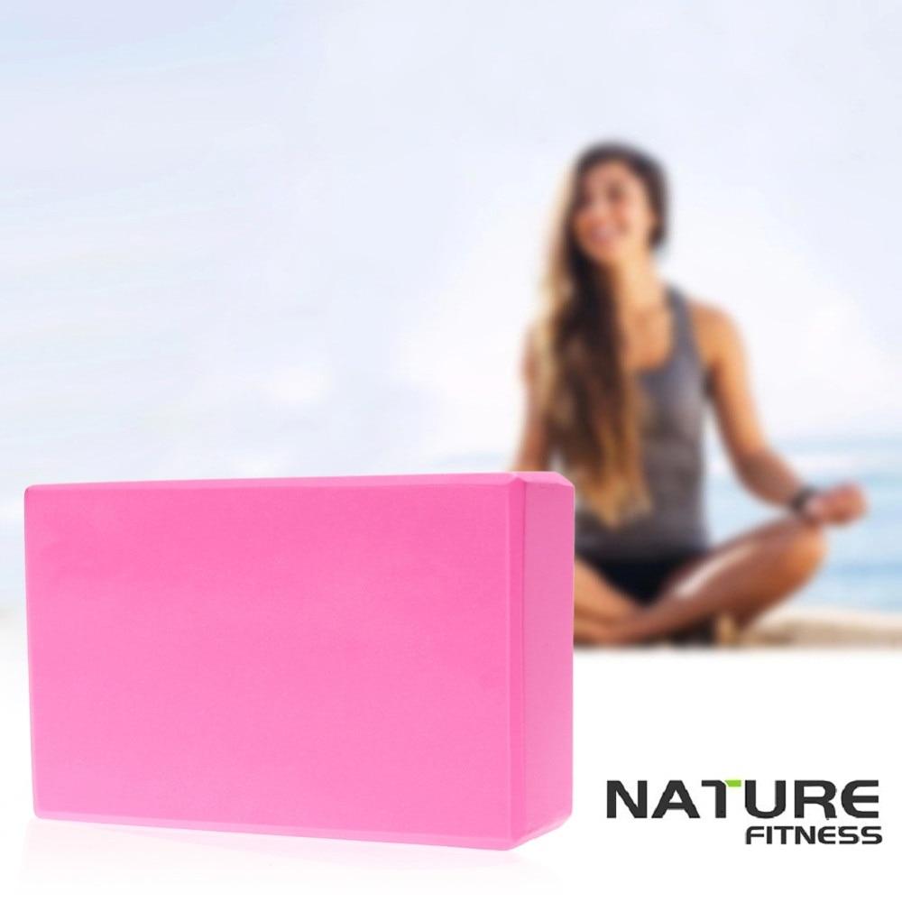 @1  4 цвета йога блок кирпича пены пены домашний спортзал спортивный инструмент ①