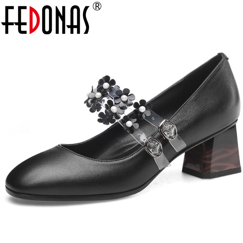 FEDONAS Fashion Sexy Women High Heels Party Wedding Shoes Woman Genuine Leather Mary Jane Prom Pumps 2019 New Womens Shoes FEDONAS Fashion Sexy Women High Heels Party Wedding Shoes Woman Genuine Leather Mary Jane Prom Pumps 2019 New Womens Shoes