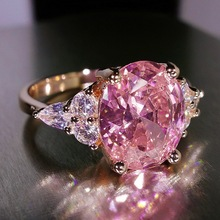 Роскошные Нержавеющаясталь цвет золотистый ringfashion ювелирных изделий женский камень кольцо для женщины