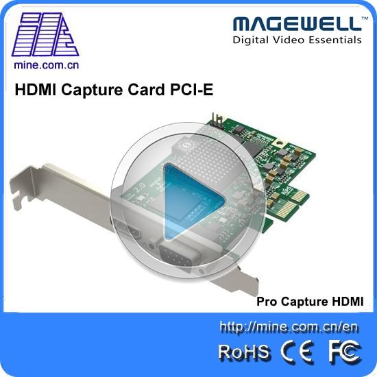 100% Hohe Qualität Ein Kanal Hdmi Erfassen Pcie Karte 2 Karat Hdmi Video Pci Express Card Unterstützung Sdk