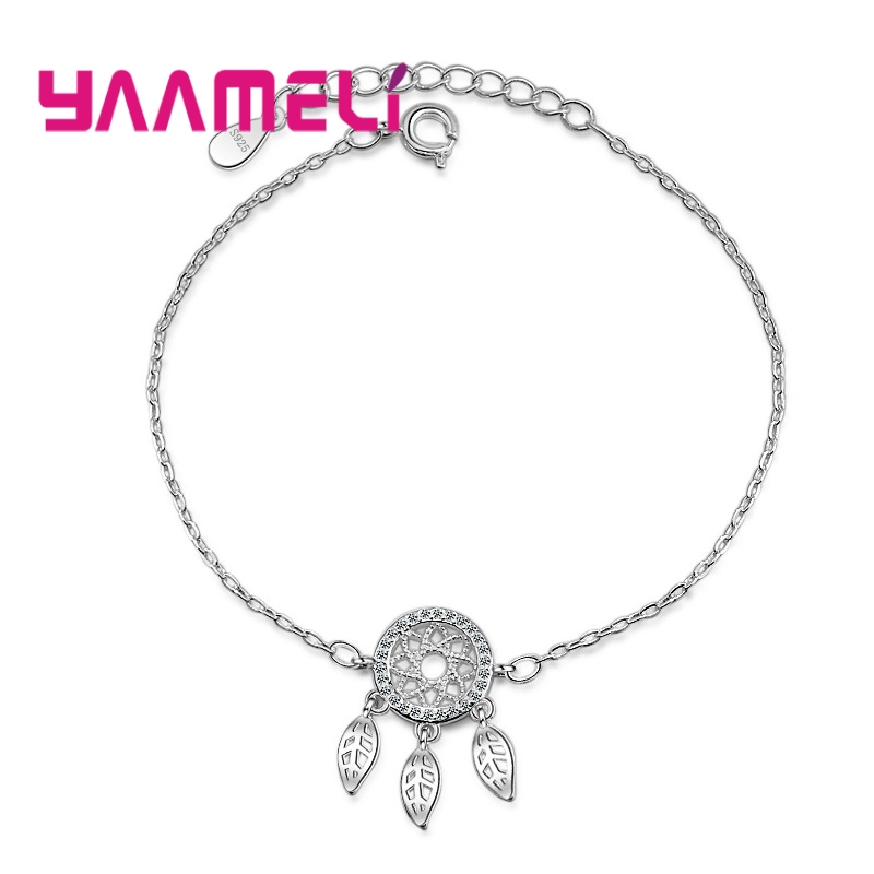 Women Bracelets Leaves...
