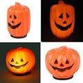 Halloween Mini LED Lantern Pumpkin Night Light Lamp Battery Decoration Prop
